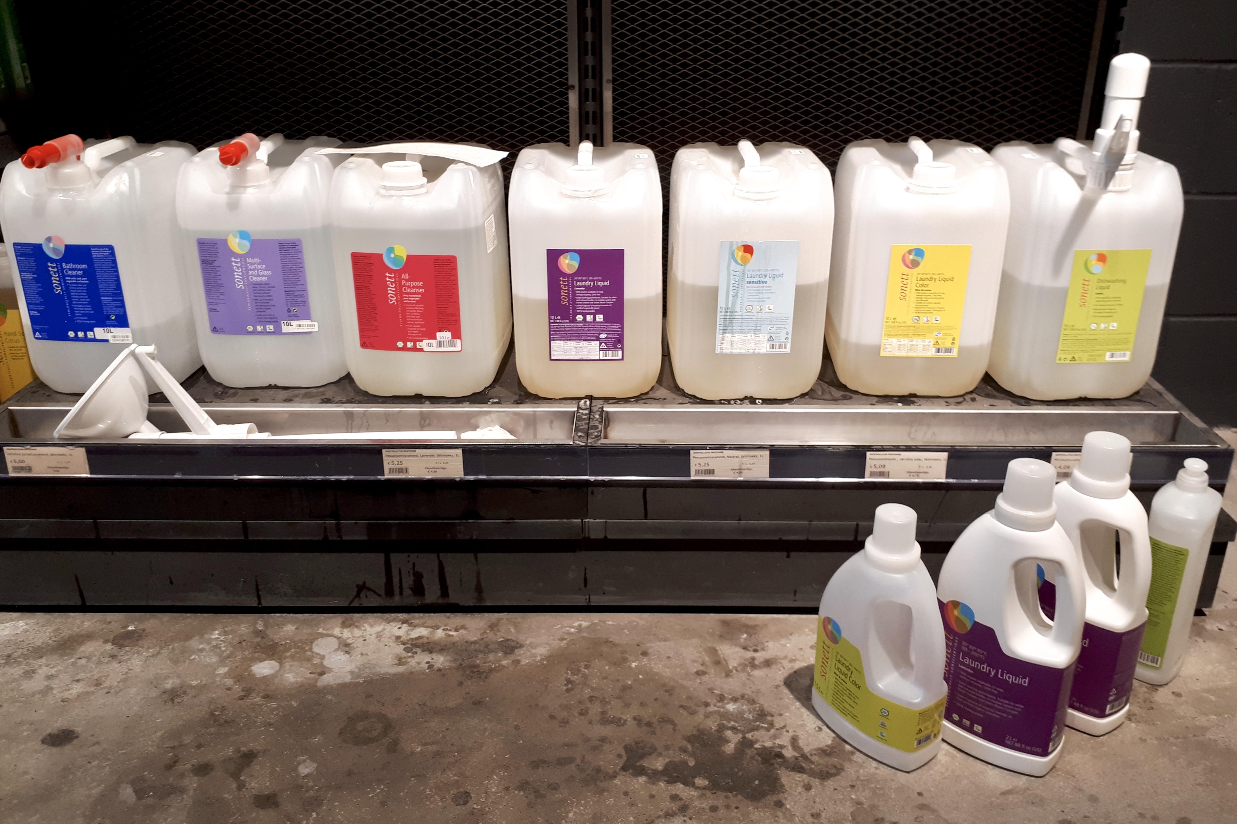 nõud puhtaks - biomarket