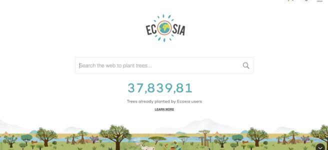 roheväljakutse - ecosia