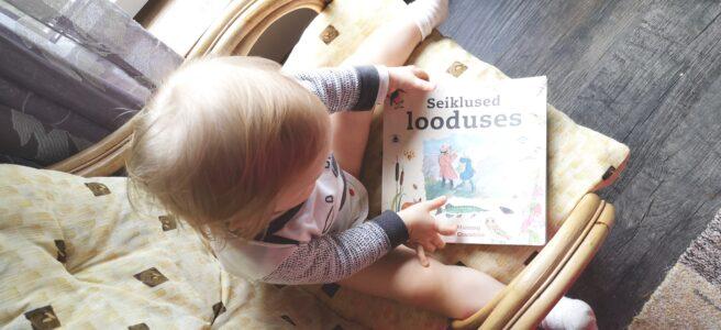 Lasteraamat Seiklused looduses